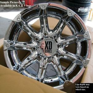 4 New 20 Wheels Rims For Ford F 350 2010 2011 2012 2013 2014 Super Duty 1007