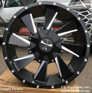 4 New 20 Wheels Rims For Chevrolet Silverado 1500 K 1500 C 2500 K 2500 6847