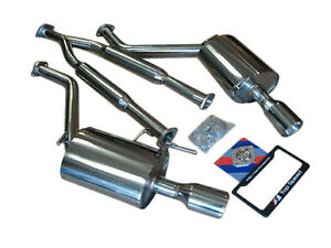 Fits Infiniti G35 G37 Sedan 07 14 Top Speed Pro 1 Y Pipe Back Exhaust System