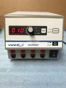 Vwr 300 Accupower Power Supply Electrophoresis