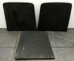 Vintage Lot Of 3 1969 Ford Mustang Bucket Seat Back Panels C9zb 650762 Aw