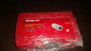Snap on 5 Piece Deep Well Thread Chasers Coarse Set Dtrfs105 New