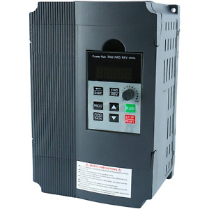 2 2kw 220v Ac 12a Single Phase Variable Speed Control Drive Frequency Converter