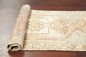 Antique Tribal 2x3 Muted Oushak Turkish Distressed Area Rug Oriental Hand Made