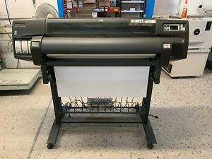 Hp Design Jet 1050c With Spinjet 1000 Autoduplexer Imposition Proofing System
