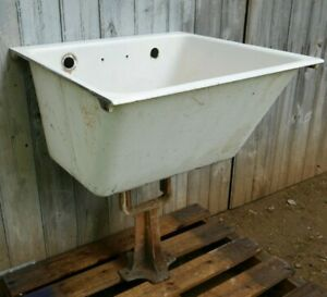 Antique Vintage American Standard Cast Iron Utility Sink Laundry Sink 1920 S 2