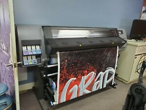 Hp Latex 310 Printer With Free Laminator For Sign Shops And Vinyl Wraps Printing