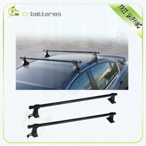 48 Universal Top Roof Rack Aluminum Luggage For 4 Door Car Suv Truck Jeep