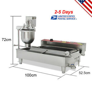 High Quality Automatic Commercial Donut Fryer Maker Making Machine Donut Maker