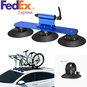 Heavy Duty Auto Car Roof Bicycle Suction Rack Carrier Hitch Accessories Us Stock