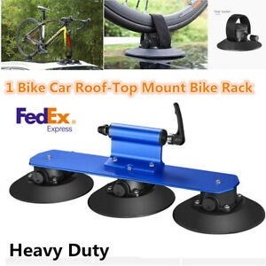 Heavy Duty Car Van Roof Bicycle Suction Rack Carrier Hitch Bike Accessories usa