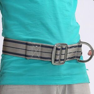 Adjustable Outdoor Climbing Safety Belt Fall Protection Wide D ring Strap