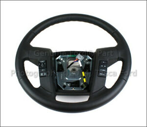 Brand New Oem Leather Steering Wheel 2011 2013 Ford F 150 Bl3z 3600 Ea