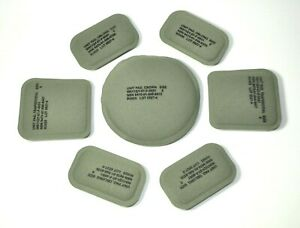 NEW! USGI ACHMICH Helmet Ballistic Lining Upgrade Replacement Pads Foliage