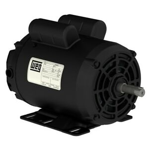 New 5hp Electric Motor For Air Compressor 56hz Frame 3455 Rpm 7 8 Shaft
