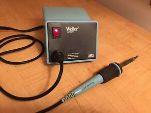Weller Pu120t Wtcpt Soldering Station With Tc201t Soldering Iron