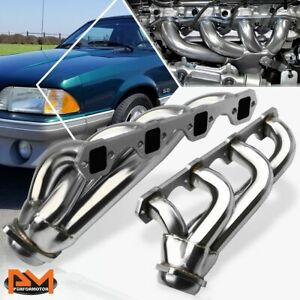 For 79 93 Ford Mustang Lx Gt 5 0l V8 302 Performance Stainless Exhaust Header