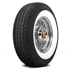 Coker Set Of 4 Tires P235 75r15 S American Classic 3 Inch Whitewall