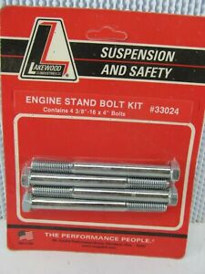 X4 3 8 16 X 4 Engine Stand Bolts For Various Amc Chevy Chrylser