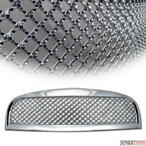 For 06 11 Hhr Chrome Bentley Mesh Front Hood Bumper Grill Grille Abs Replacement