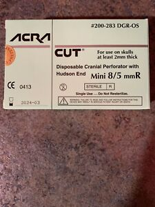 Acra Cut 200 283 Mini Perforator With Hudson End