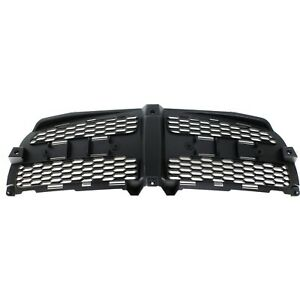 Grille Insert For 2011 2014 Dodge Charger Textured Black Plastic