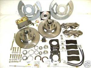 68 69 Mustang Cougar Fairlane Torino Disc Brake Conversion With 4 Piston Caliper
