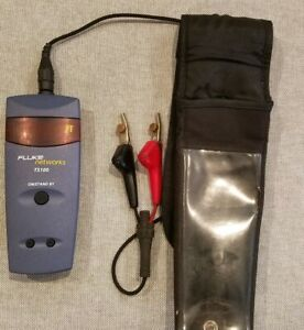 Fluke Networks Ts100 Cable Fault Finder W Case