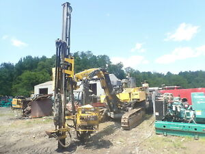 2012 Atlas Copco Roc D3 Hydraulic Rock Drill Rig Drilling 1500 Hours Cummins