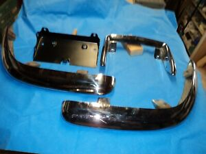 Corvette 1961 1962 Rear Bumper Set 61 62