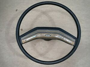 73 74 75 76 77 78 79 80 84 85 86 Ford Truck Bronco Black Steering Wheel Cruise