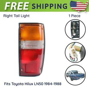 Tail Lamp Rear Lights Rh Side Fit For Toyota Hilux Mk2 Ute Pickup 1984 1988 New