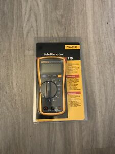 Fluke 115 True Rms Multimeter New In The Package With Included Lead Set