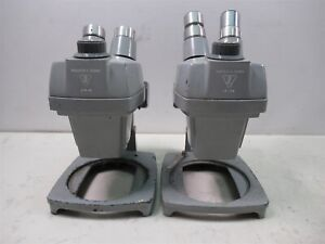 Bausch Lomb Stereo Zoom Microscopes 7x 3x 1x 2x Lot Of 2 Units