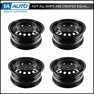 16 Inch Steel Replacement Wheel Rim New Set Of 4 For 12 13 Ford Focus Fusion