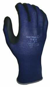 380xl 09 Atlas Nitrile Glove X large Blue With Black Coating pack Of 144