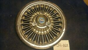 One 1965 1966 1967 1968 Ford Mercury 15 Wire Spinner Hubcap
