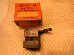 Lyman Ideal Double Cavity 358432S 765 Bullet Mold in Factory Box Pre-owned