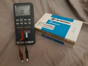 Bk Precision 878 Digital Lcr Meter Test Instruments Meter Excellent Condition