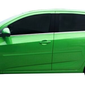 For Chevy Sonic 2012 2019 Dawn 1 25 Wide Body Side Moldings Painted