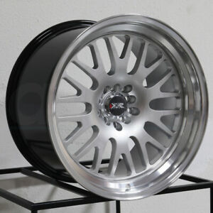 One 15x8 Xxr 531 4x100 4x114 3 0 Hyper Silver Ml Wheels Rims