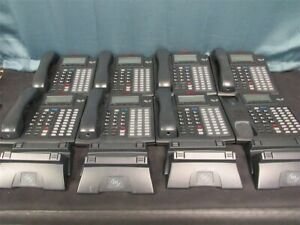 Lot Of 8 Esi Communication Server 48 Key Ipfp2 Voip Ip Poe Feature Display Phone