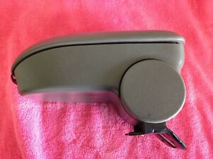 Grey Ford Focus Arm Rest Lid Center Middle Console Armrest 2000 2007 Floor Gray