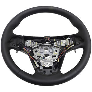 23360213 Steering Wheel Black Heated Leather New Oem Gm 2014 15 Cadillac Cts