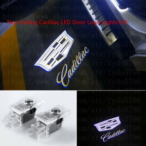 No Fading Logo Led Door Courtesy Light Ghost Shadow Laser Projector For Cadillac
