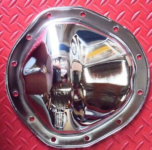 Rear End Cover 12 Bolt Truck Differential Chevy Gmc Gm Chrome Plated Steel New