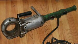 Used Greenlee Portable Electric Power Threader