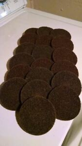 3 Scotch Brite Roloc Brown Coarse Surface Conditioning Disc 3m Company 7485