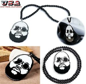 Full Beard Decor For Car Rearview Mirror Hip Hop Style Dangling Pendant Ornament