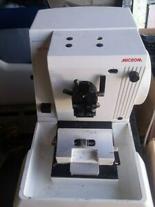 Microm Hm 315 Microtome With Blade